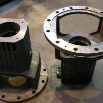 Bell Housing for Mounting an Electric Motor to a Pump