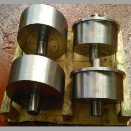 Walking Beam Wheels for Port Talbot Steel Works Concast