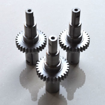 Drive pinion for embroidery machines