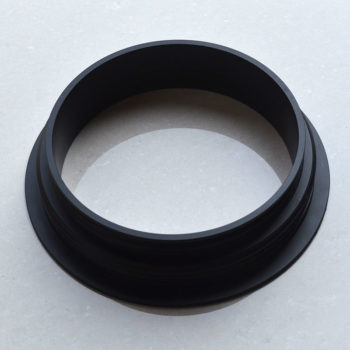 Fume cabinet glove port ring
