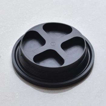 Fume cabinet sink plug