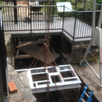 Aberdulais Waterwheel Refurbishment