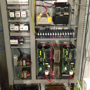 New Electrical Panel build for CNC Roll Lathe in Celsa